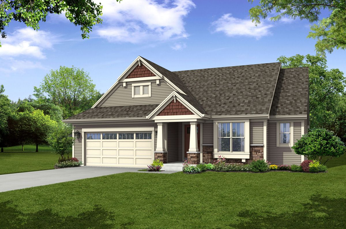 Single Family for Sale at The Lauren, Plan 1640 720 Chadwick Drive Watertown, Wisconsin 53094 United States