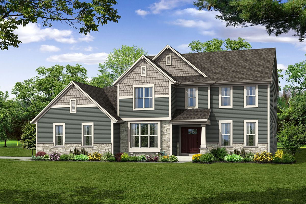 Single Family for Sale at The Hallmark, Plan 2524 W220 S3931 Crestview Court Waukesha, Wisconsin 53189 United States
