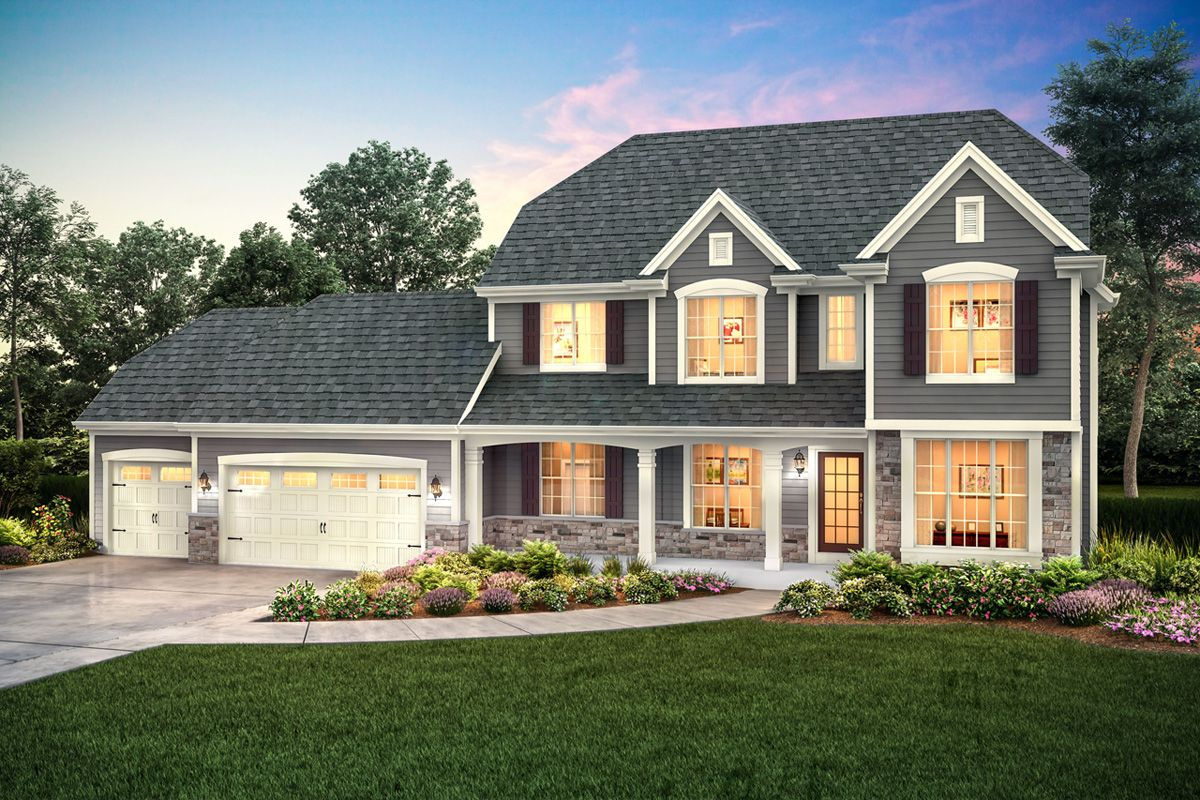 Single Family for Sale at Broken Hill West - The Stratford, Plan 2587 W239 N3736 River Birch Court Pewaukee, Wisconsin 53072 United States
