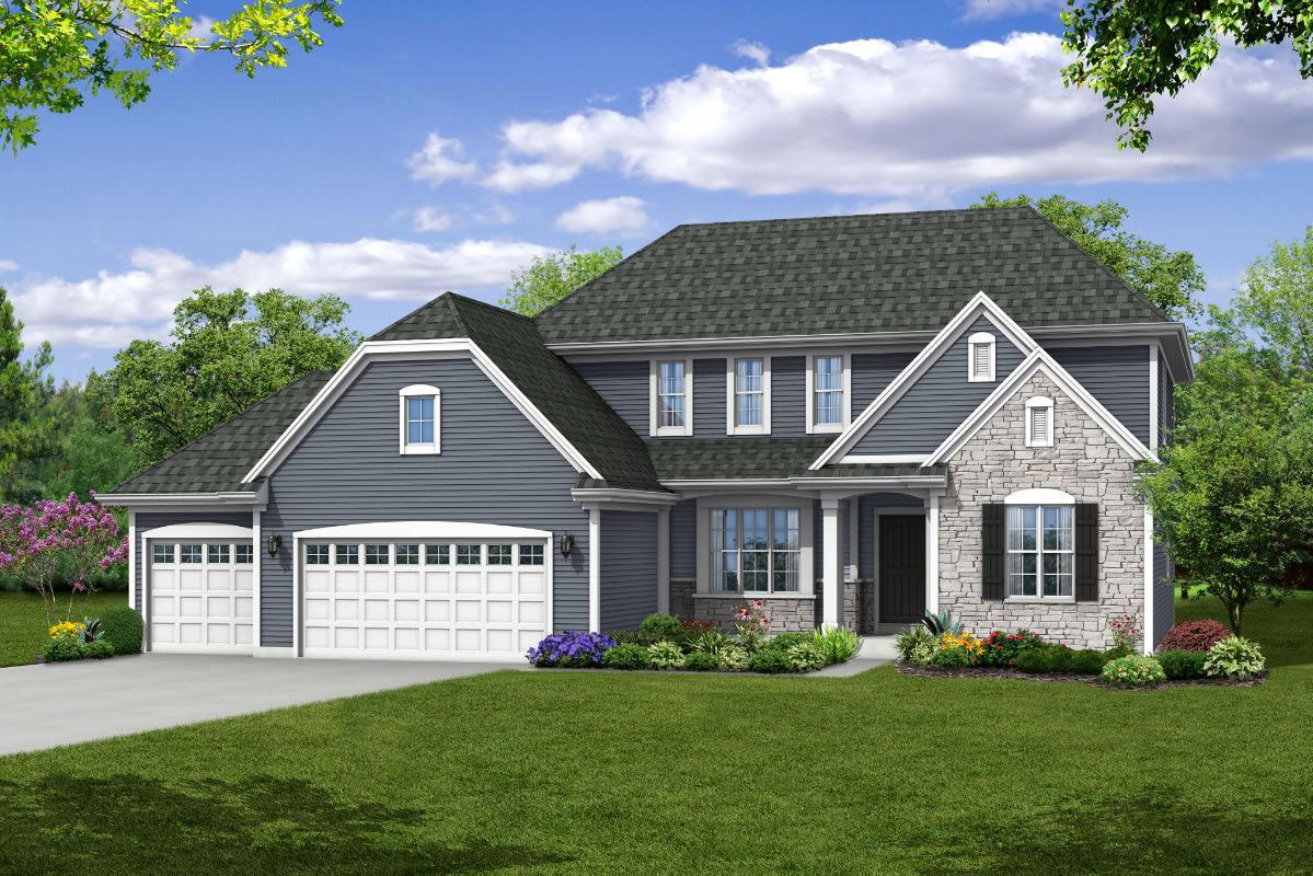 Single Family for Active at The Charlotte, Plan 2506 W282 N6633 Forest Ridge Circle Sussex, Wisconsin 53089 United States