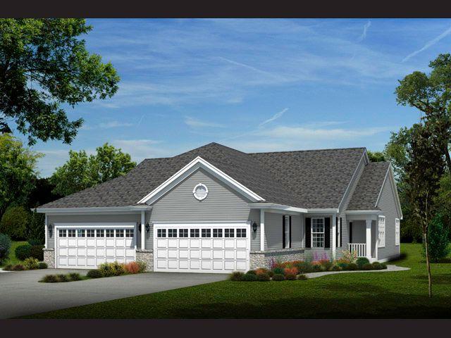 Multi Family for Sale at Bay Pointe Condominiums - The Carnation, Plan 1517-R1 - Condominium N54 W35273 Coastal Avenue Oconomowoc, Wisconsin 53066 United States