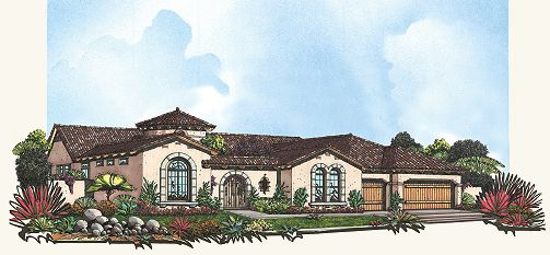 Single Family for Active at Canyon Preserve - Residence 9 1925 N Woodruff Rd Mesa, Arizona 85207 United States