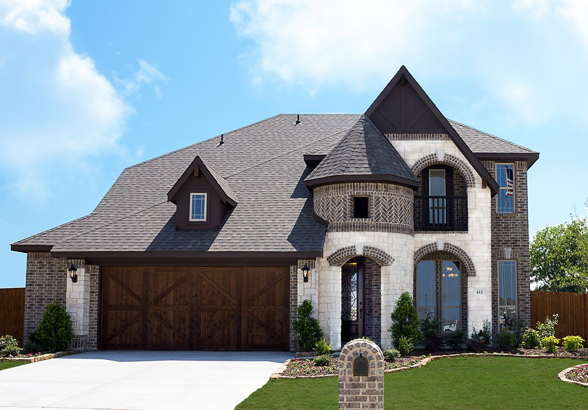 Crestview new homes in crowley tx by bloomfield homes for New big homes for sale