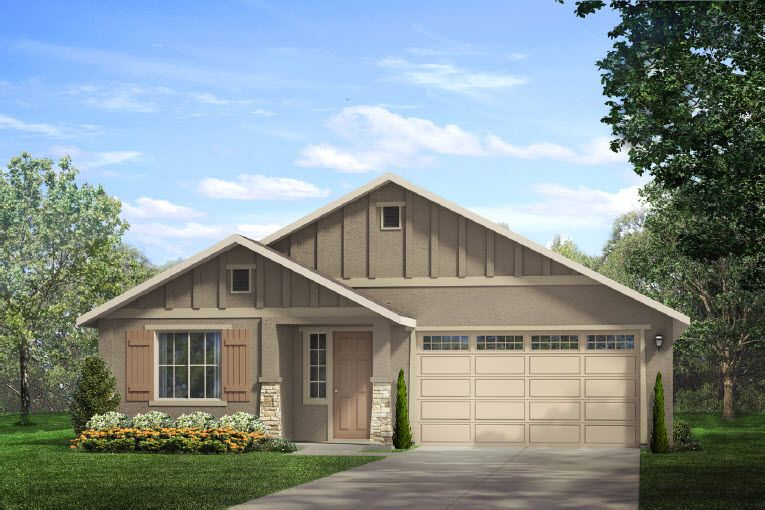 Single Family for Sale at Almond Terrace - Plan 2 594 Samuel Way Merced, California 95348 United States