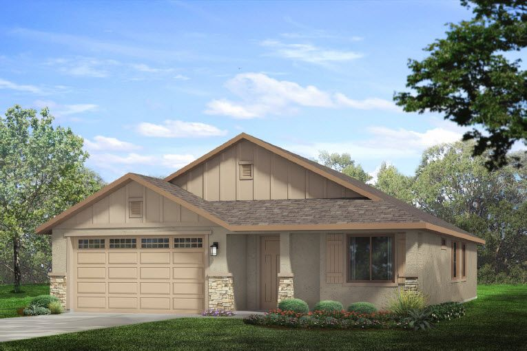 Single Family for Sale at Almond Terrace - Plan 3 594 Samuel Way Merced, California 95348 United States
