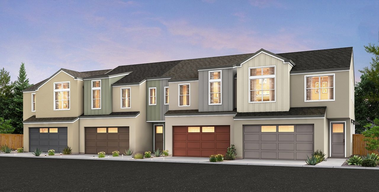 Single Family for Sale at Village Station - Plan B Boyd St & Sebastopol Ave Santa Rosa, California 95407 United States