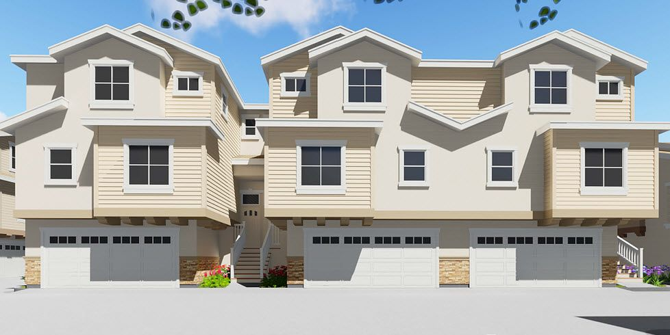 Multi Family for Sale at Cypress Square - Plan 2 4604 Lincoln Ave Cypress, California 90630 United States