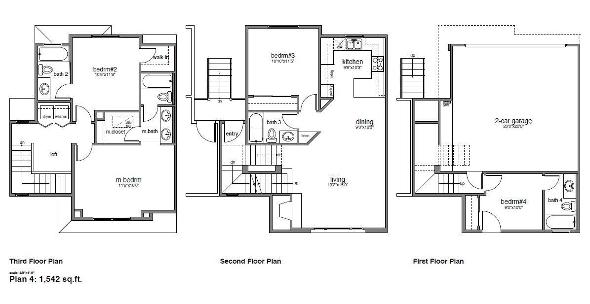 Multifamiliar por un Venta en Cypress Square - Plan 4 4604 Lincoln Ave Cypress, California 90630 United States