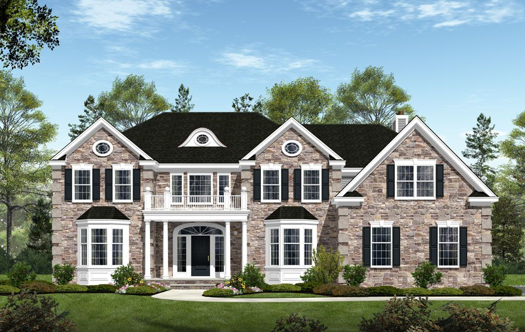 Single Family for Sale at The Estates At Waverly Place - The Stafford 80 Staats Farm Road Montgomery, New Jersey 08502 United States