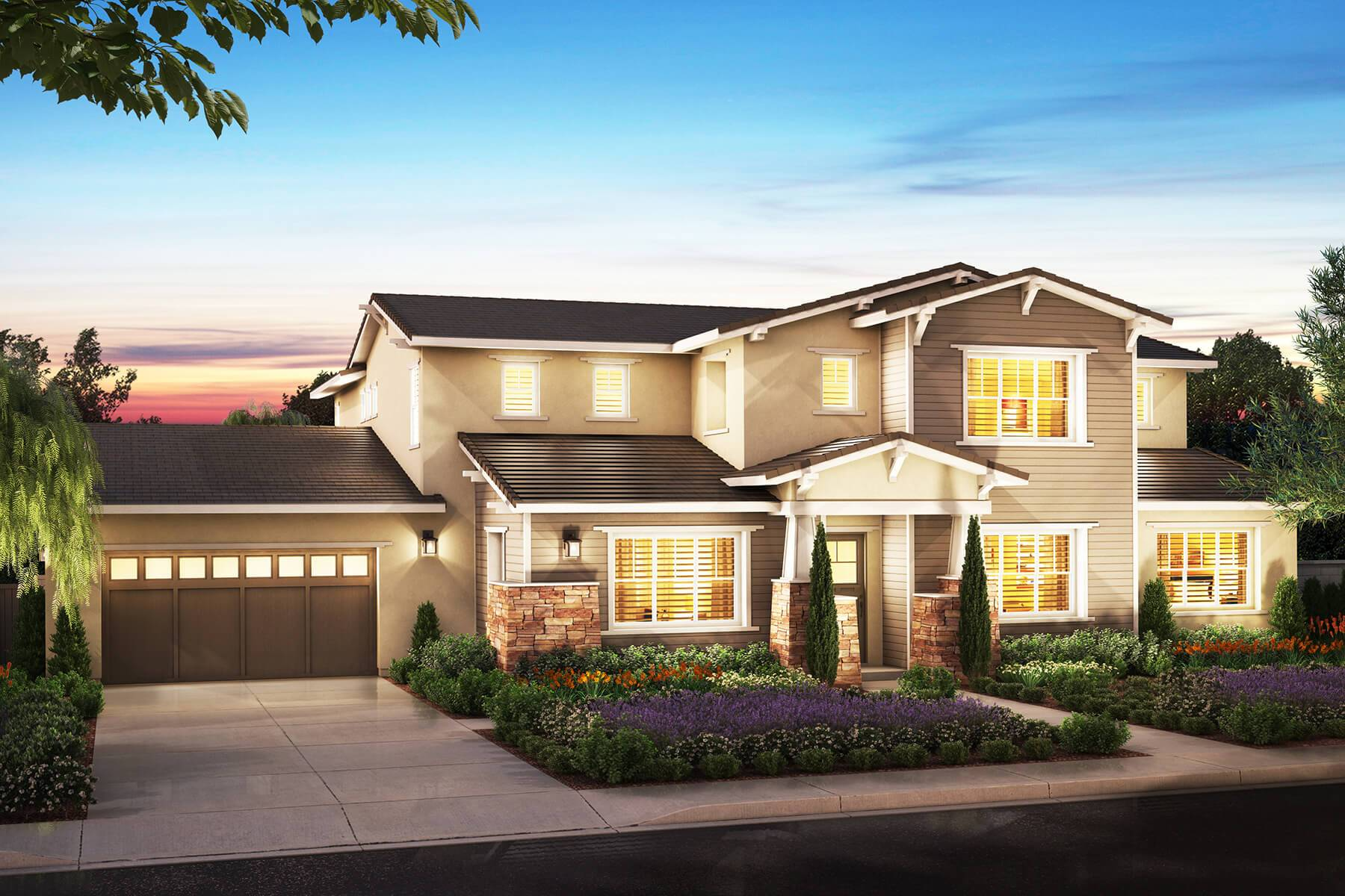 Famille unique pour l Vente à Newbury - Residence 1 5216 Highland Ave. Yorba Linda, California 92886 United States