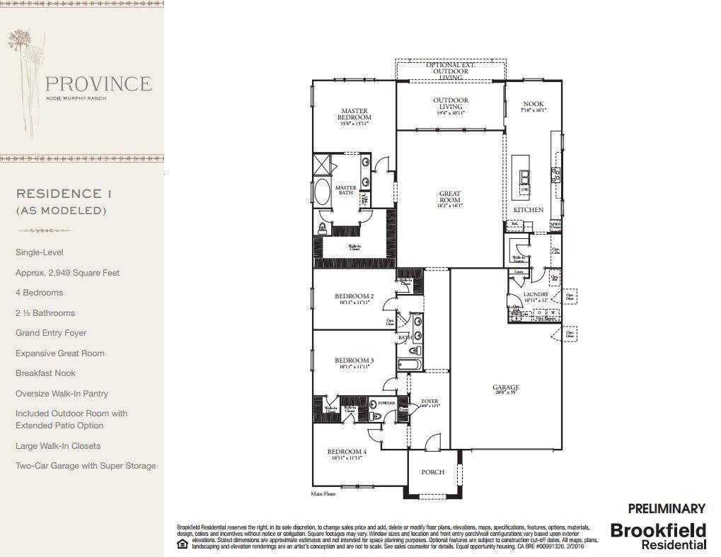 Photo of Residence 1 in Menifee, CA 92584