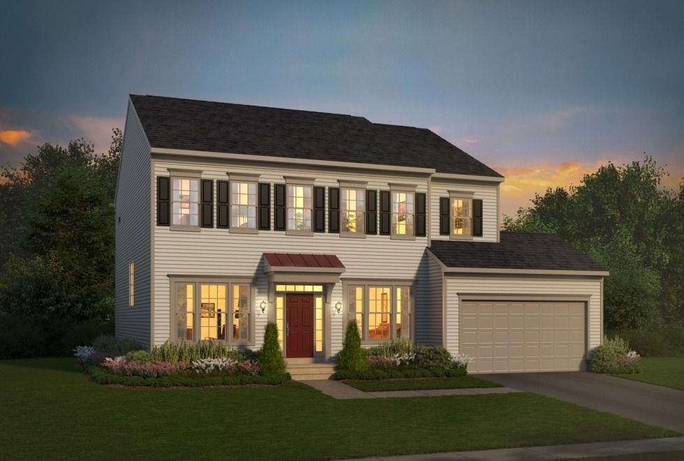 Single Family for Active at Avendale - Kensington 10392 Twin Leaf Drive Bristow, Virginia 20136 United States