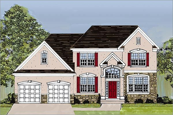 Single Family for Sale at Sturbridge Hill - The Augusta 20 Simsbury Drive Voorhees, New Jersey 08043 United States