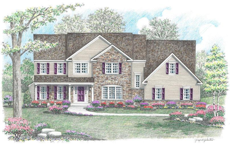 Single Family for Active at Hidden Creek - The Brandywine By Appointment Only Medford, New Jersey 08055 United States