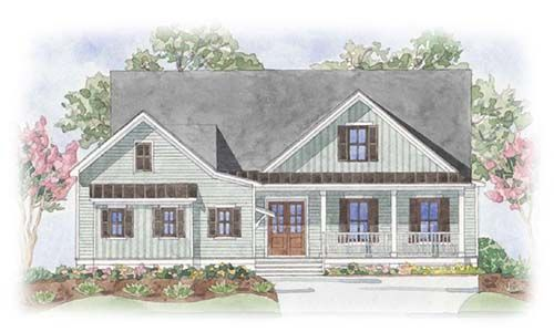 Single Family for Active at Cypress Pointe At Brunswick Forest - Portsmith 1007 Evangeline Drive Leland, North Carolina 28451 United States