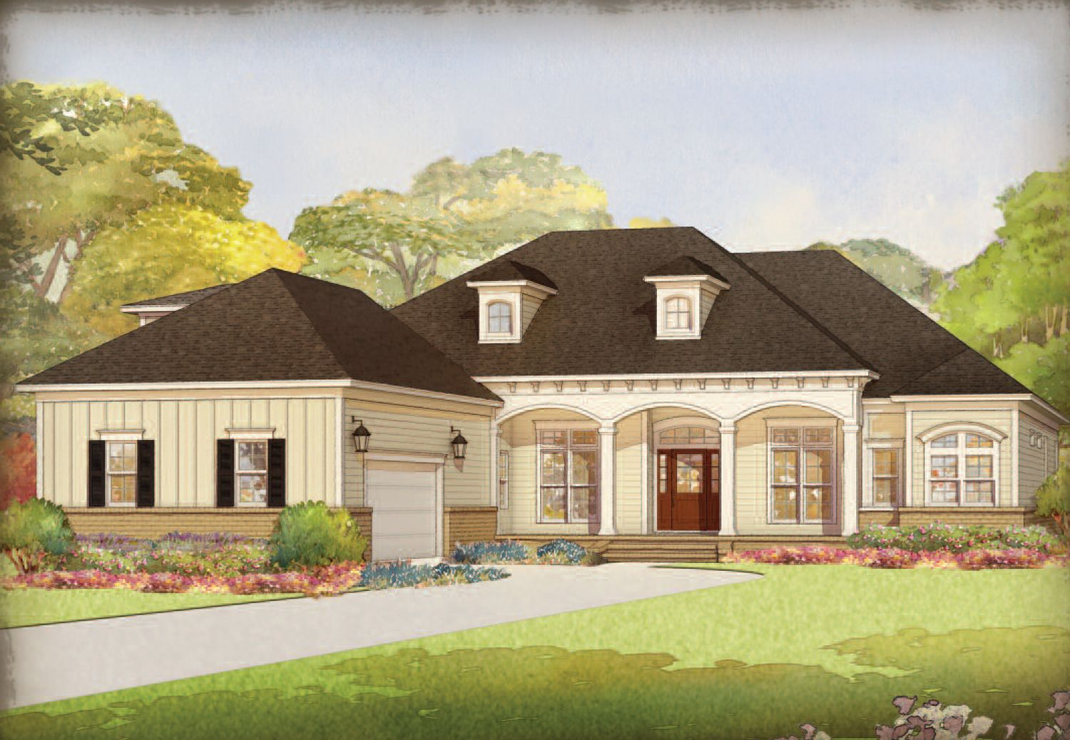 Single Family for Active at Cape Fear National At Brunswick Forest - The Lexington Ii Leland, North Carolina 28451 United States