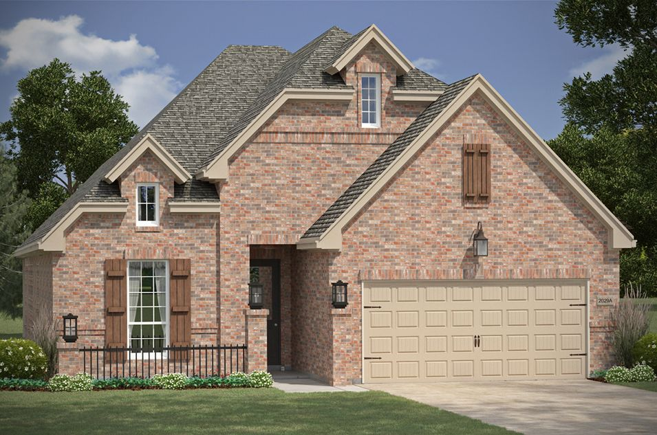 The parks at brighton new homes in bentonville ar by for Arkansas home builders