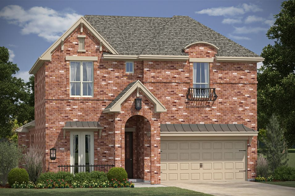 The parks at brighton new homes in bentonville ar by for Home builders in arkansas