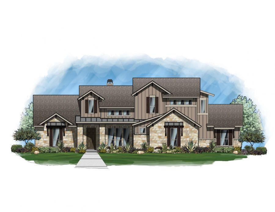 Single Family for Active at Rutherford West - Vanderbilt 10404 Brangus Road Driftwood, Texas 78619 United States