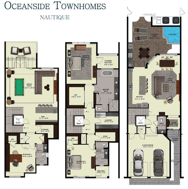 Cjm Communities Oceanside Townhomes Coquina 1242188