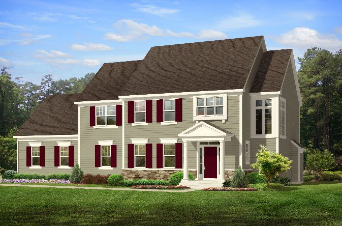 Single Family for Active at Bridgewater Northford - Dayton Classic 1675 Middletown Ave. Northford, Connecticut 06472 United States