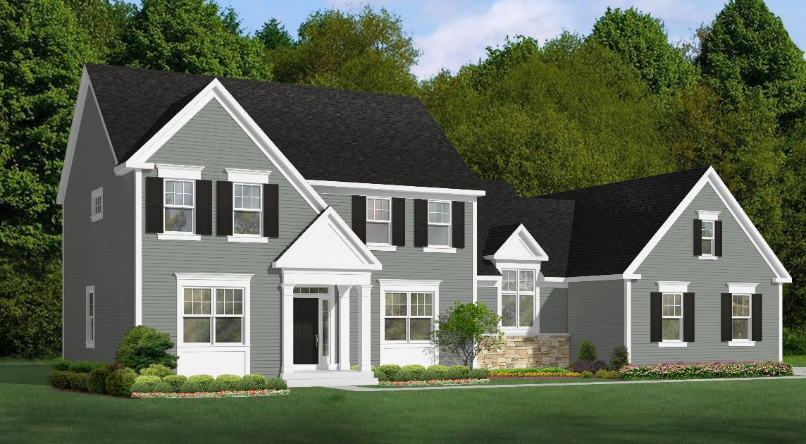 Single Family for Active at Bridgewater Northford - Harrison Classic 1675 Middletown Ave. Northford, Connecticut 06472 United States