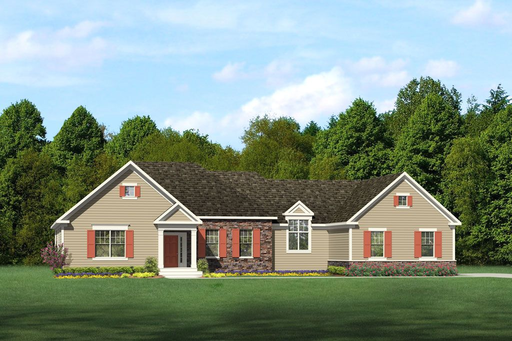 Single Family for Active at Bridgewater Northford - Linsley Grand 1675 Middletown Ave. Northford, Connecticut 06472 United States