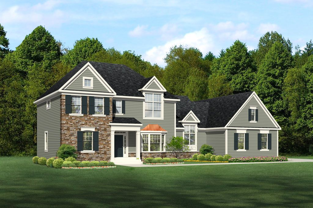 Single Family for Active at Bridgewater Northford - Harrison Grand 1675 Middletown Ave. Northford, Connecticut 06472 United States