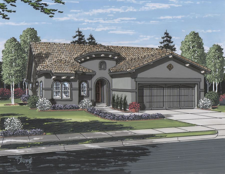 Single Family for Active at Cordera - Emerson 10308 Webster Pass Court Colorado Springs, Colorado 80908 United States
