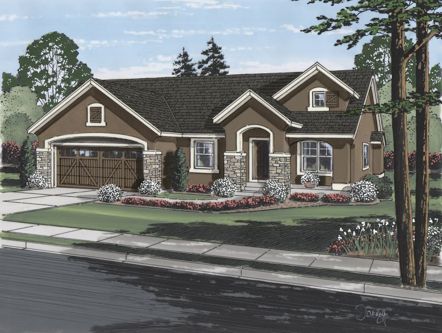 Single Family for Active at Cordera - Edinburgh 10308 Webster Pass Court Colorado Springs, Colorado 80908 United States