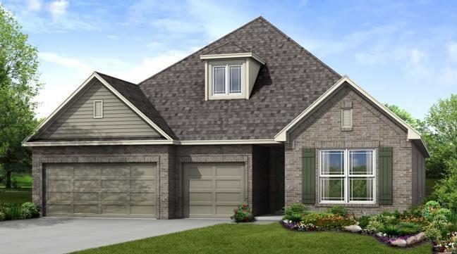 Single Family for Sale at Providence Hills - Merritt 13230 S 21st Pl Bixby, Oklahoma 74008 United States