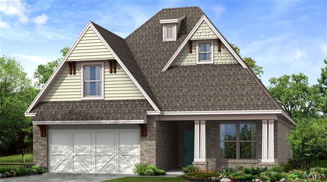 Single Family for Sale at Yorktown - Montgomery 13018 S. Ash Street Jenks, Oklahoma 74037 United States