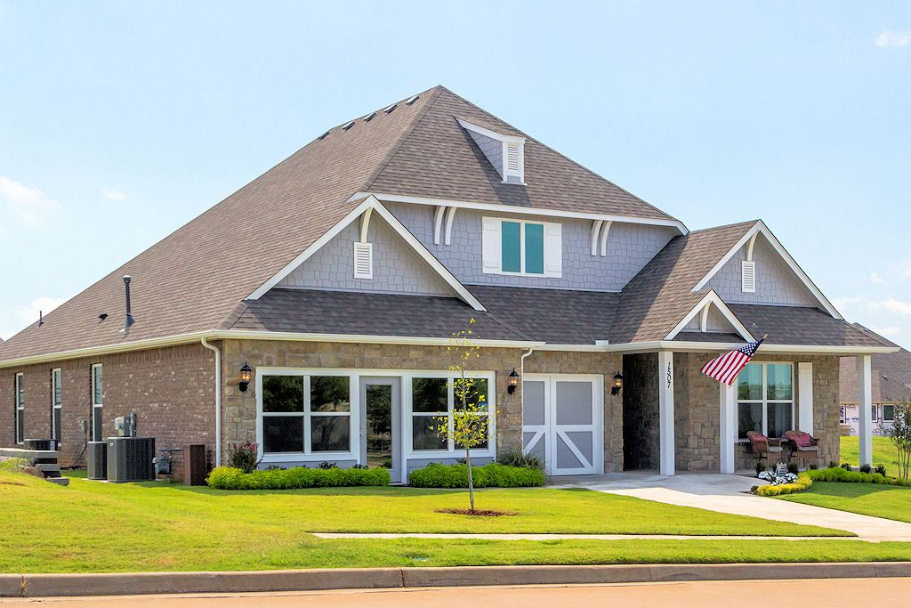 Reserve At Bradford Park New Homes In Broken Arrow Ok By Capital Homes