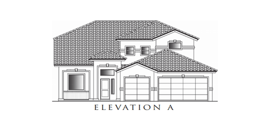 Single Family for Sale at Valley Creek - Santiago 5637 Valley Laurel Street El Paso, Texas 79932 United States