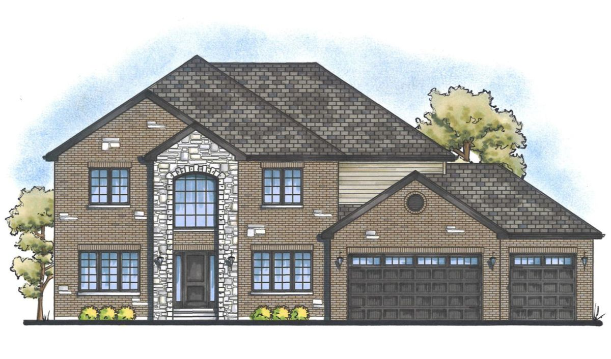 Single Family for Sale at Equestrian Meadows - Mayfair 12150 Bell Rd Lemont, Illinois 60439 United States