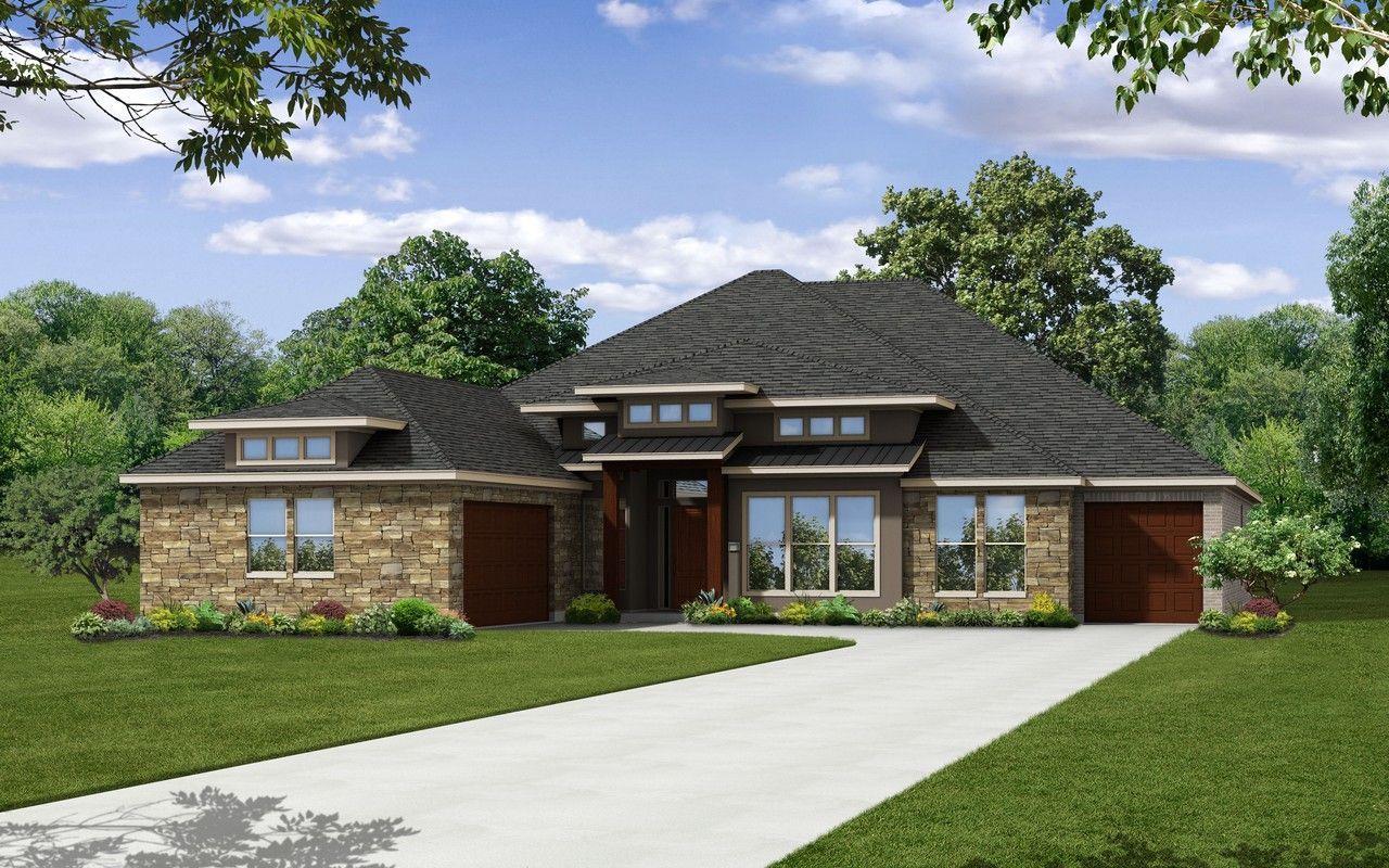 Castlerock communities estates of flintrock diamante w for Modern houses for sale austin