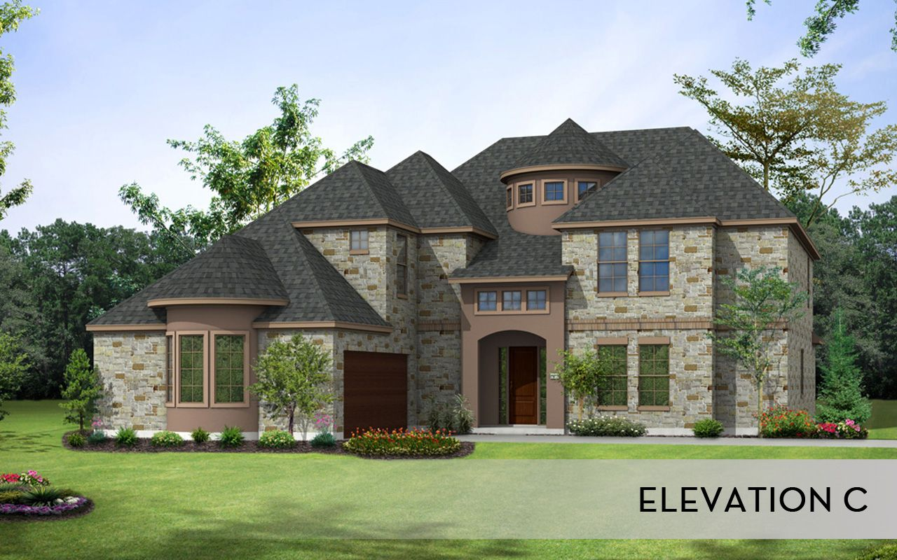 Unifamiliar por un Venta en Estates Of Flintrock - Pinehurst-Mercury Luxury Home Estates Of Flintrock By Castlerock Communities Lakeway, Texas 78738 United States