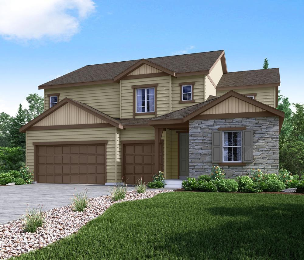 Single Family for Sale at Salisbury Heights - Residence 50255 11825 Edenfeld Street Parker, Colorado 80134 United States