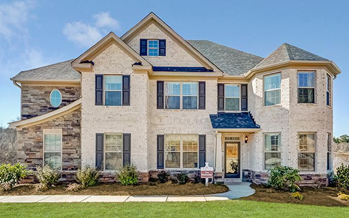 Brightfield farms new homes in loganville ga by century for Home builders in loganville ga