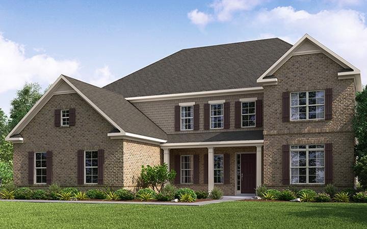 Single Family for Active at Ashley Falls - Amherst 5908 Ashley Falls Lane Flowery Branch, Georgia 30542 United States