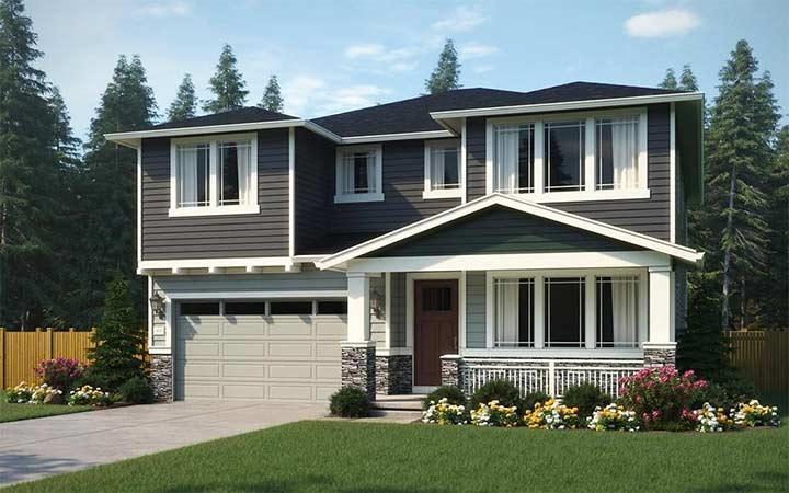 Single Family for Sale at Symphony Ridge - The Aspen 23590 Se 46th Place Sammamish, Washington 98075 United States