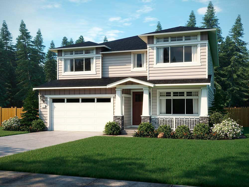 Single Family for Sale at Symphony Ridge - The Cypress 23590 Se 46th Place Sammamish, Washington 98075 United States