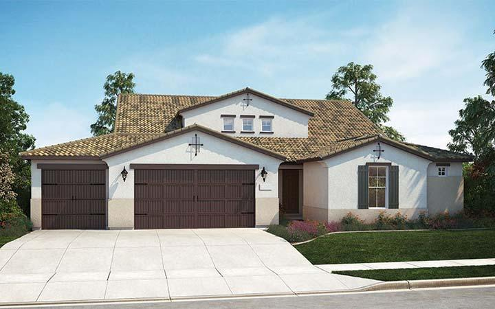 Multifamiliar por un Venta en Diamond Crest - Paragon - Model For Sale 3245 Lexington Ave. Clovis, California 93619 United States