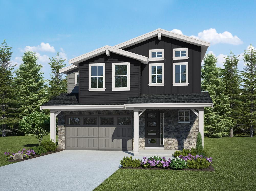 Single Family for Sale at Belwick - The Taylor - 417 2400 Ne 147th Street Shoreline, Washington 98155 United States