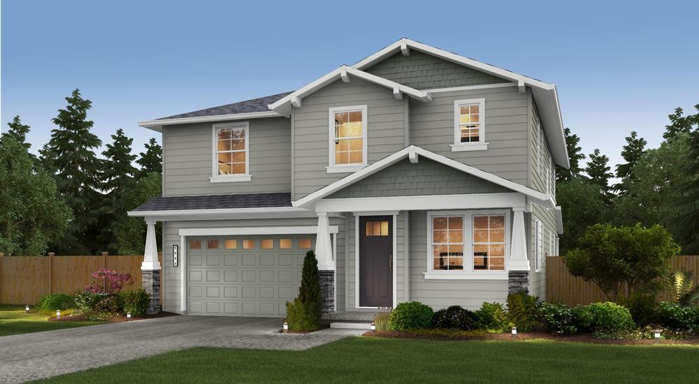 Single Family for Sale at Gravelly Lake - The Harriet 11604 Interlaaken Dr Sw Lakewood, Washington 98498 United States