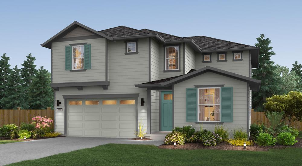 Single Family for Sale at Gravelly Lake - The Collins 11604 Interlaaken Dr Sw Lakewood, Washington 98498 United States