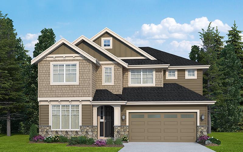 Single Family for Sale at Alderidge - The Charles - 556 17821 32nd Ave W Lynnwood, Washington 98037 United States