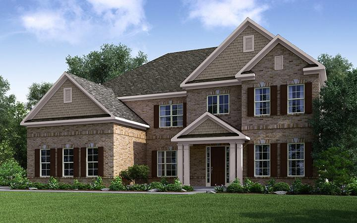 Single Family for Active at Ashley Falls - Carrington 5908 Ashley Falls Lane Flowery Branch, Georgia 30542 United States