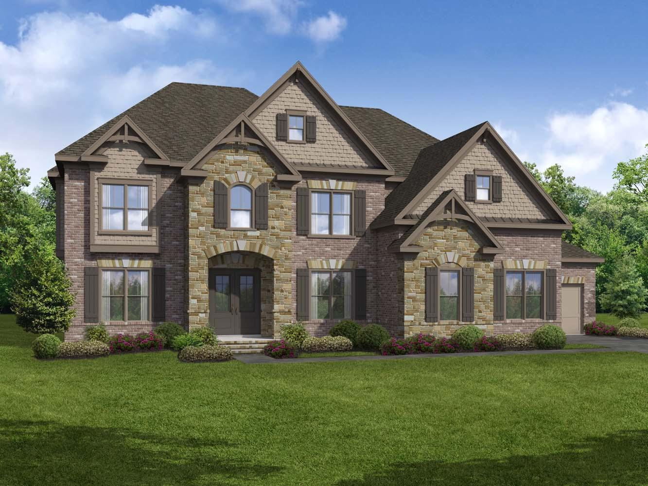 Single Family for Active at Stonewater Creek - Norwich 4661 Gablestone Drive Hoschton, Georgia 30548 United States