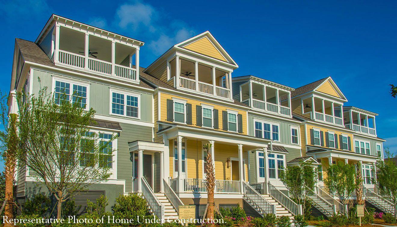 Single Family for Sale at The Bridgeport 1711 Frissel Street Daniel Island, South Carolina 29492 United States
